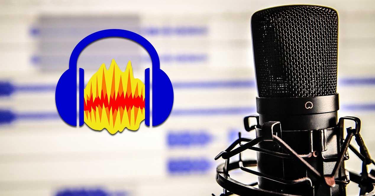 Grabar voz con Audacity
