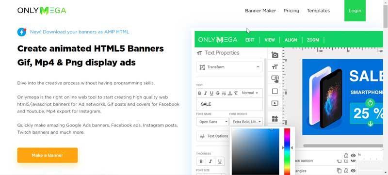 HMTL5 Maker desarrollo web