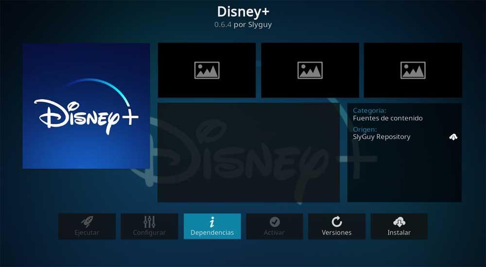 Instalar Disney
