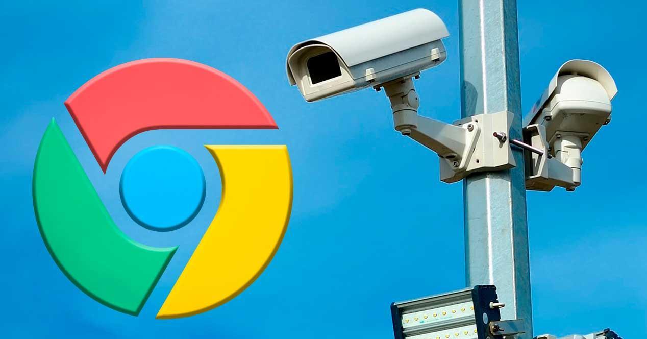 Privacidad vigilancia Chrome