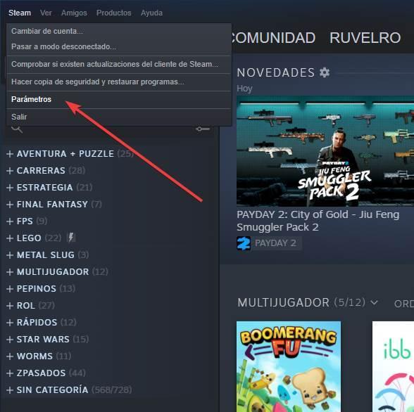 Steam - Activare desactivare streaming 1