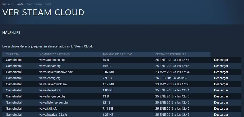 Steam Cloud - Verificați fișierele protejate