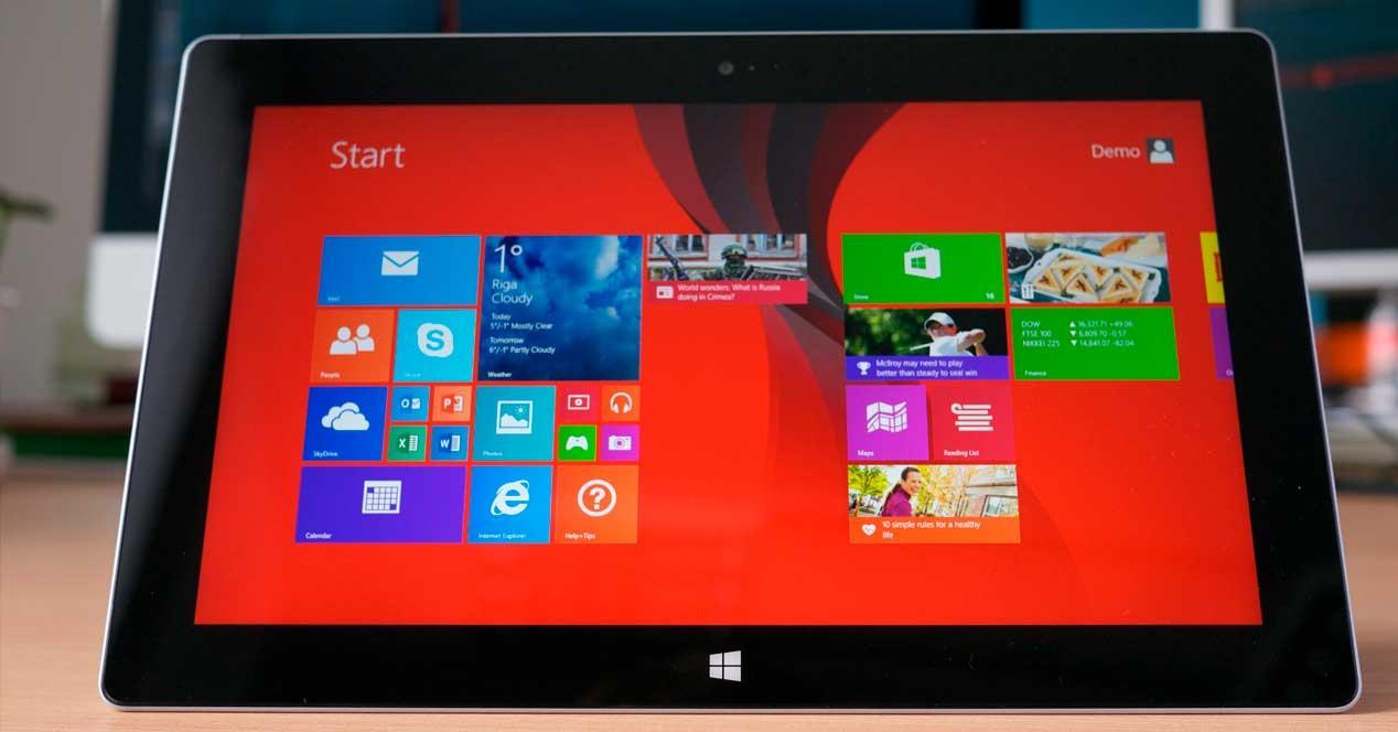 Surface Windows 8