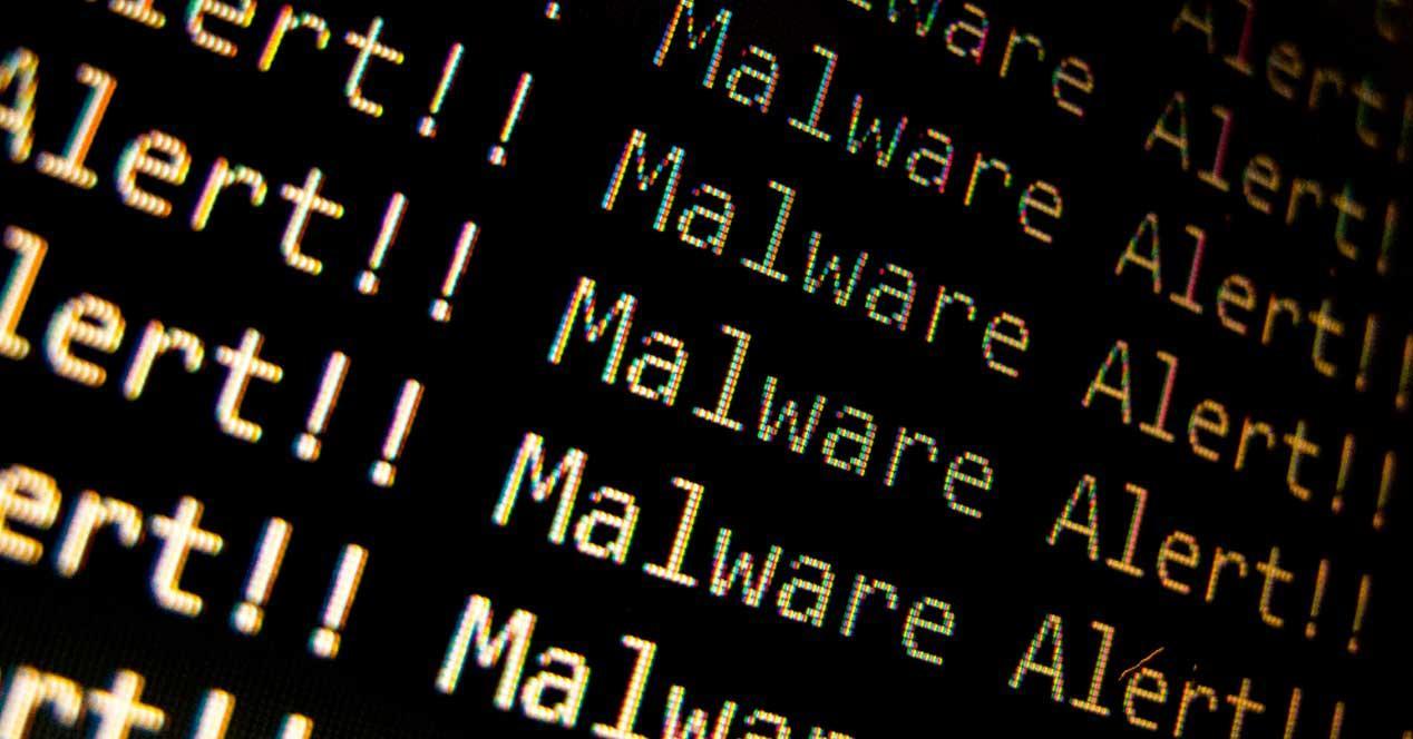 Alerta malware