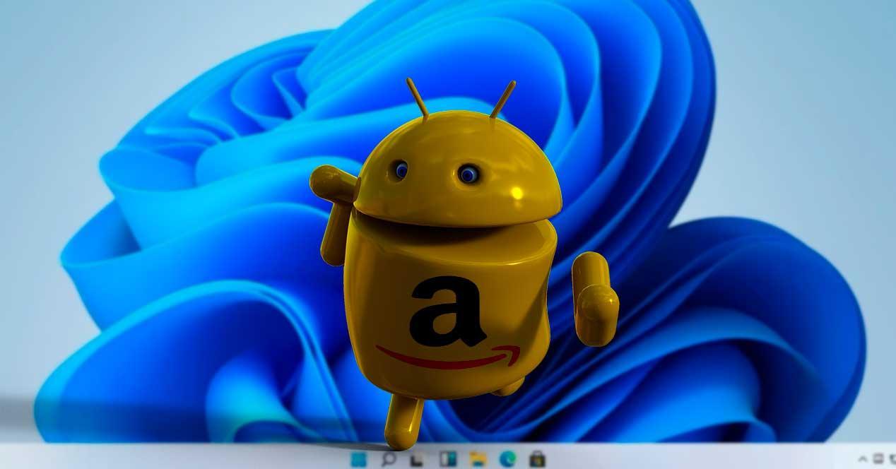 Android Amazon Apps Windows 11
