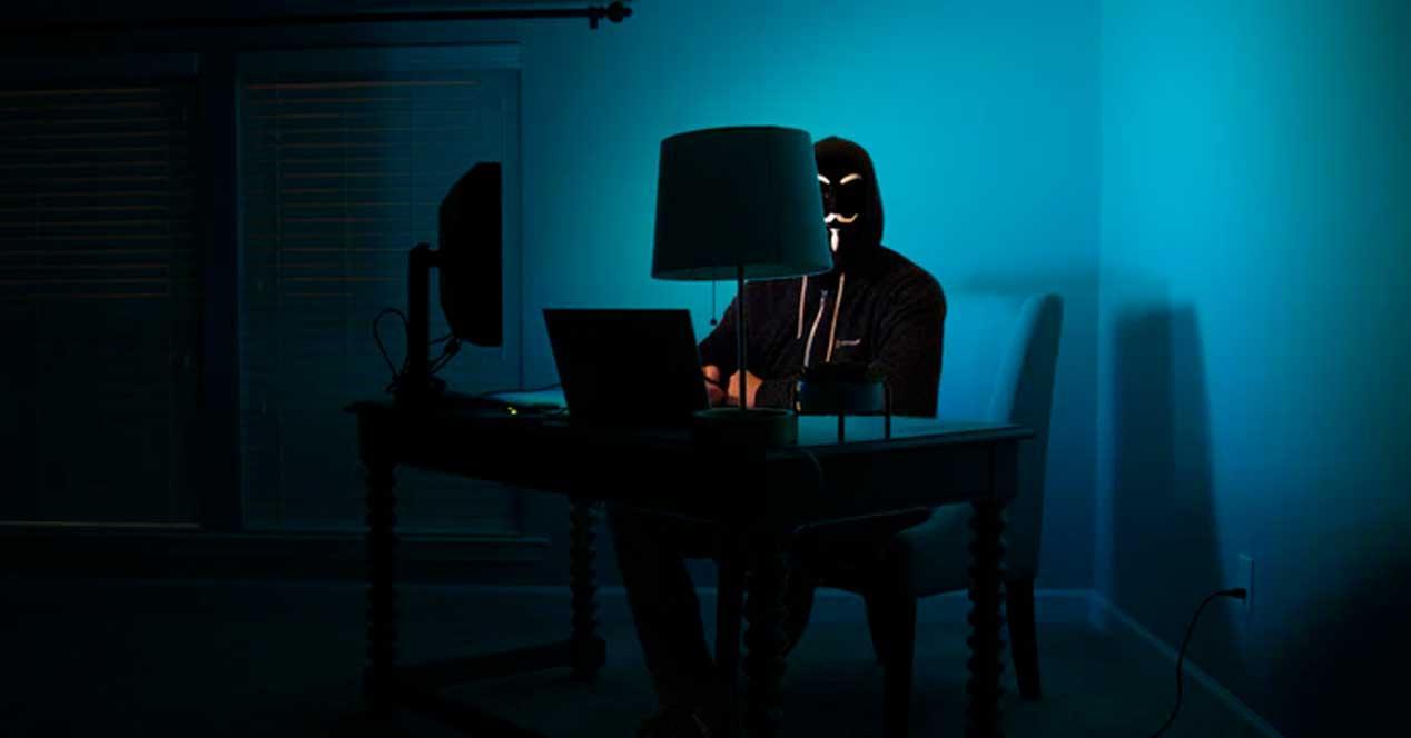 Hacker solitario