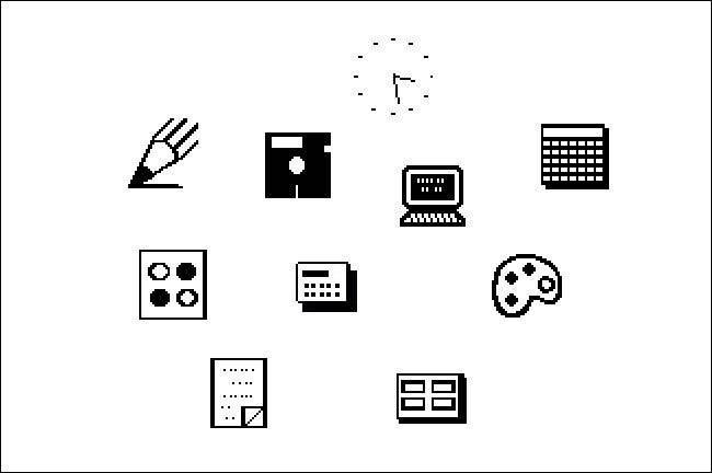 Icônes Windows 1.0