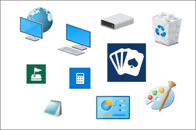 Icônes Windows 10