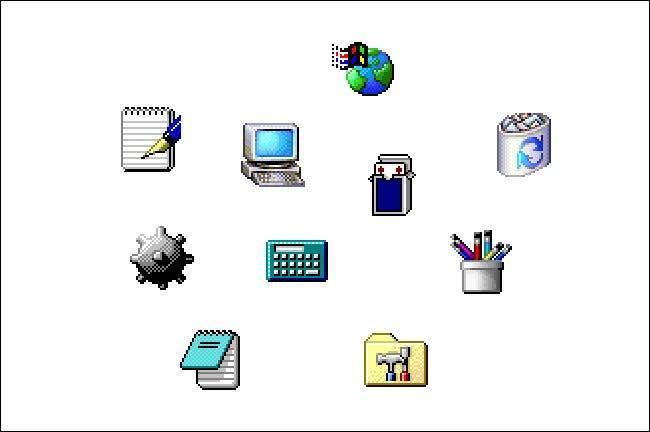 Icônes Windows 2000