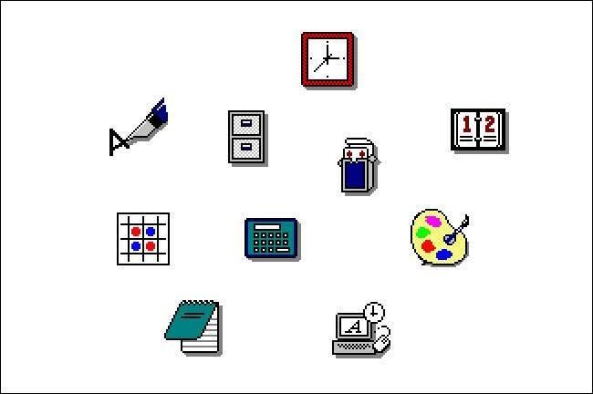 Icônes Windows 3.0