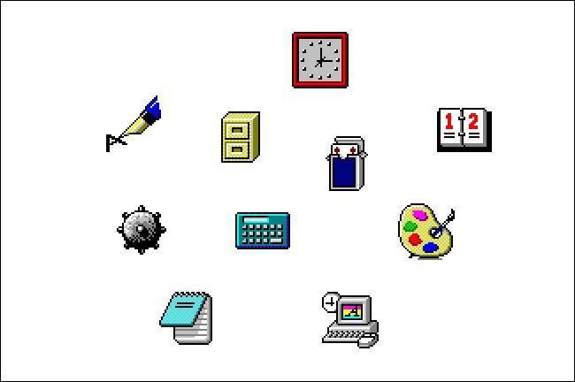 Icônes Windows 3.1