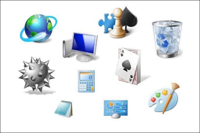 Icônes Windows 7