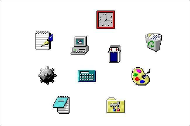 Icônes Windows 95