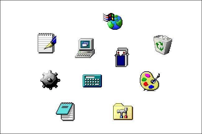 Icônes Windows 98