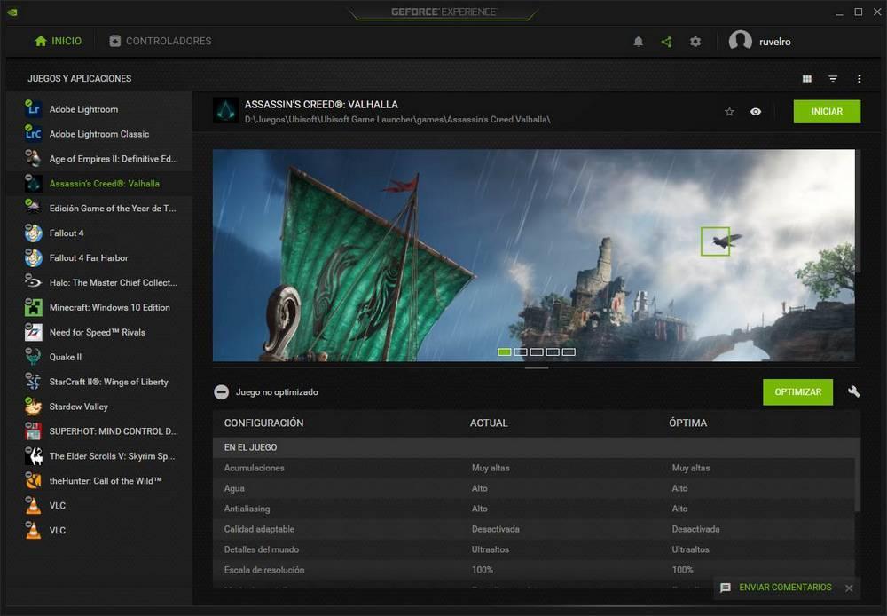 NVIDIA GeForce Experience - 1