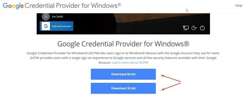 Web Proveedor de credenciales de Google