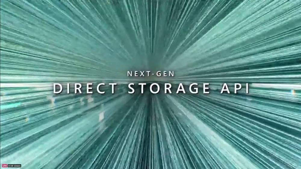 Windows 11 - API de stockage direct