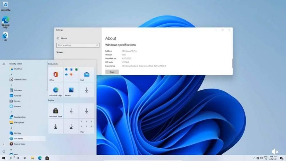 Windows 11 med W10 explorer