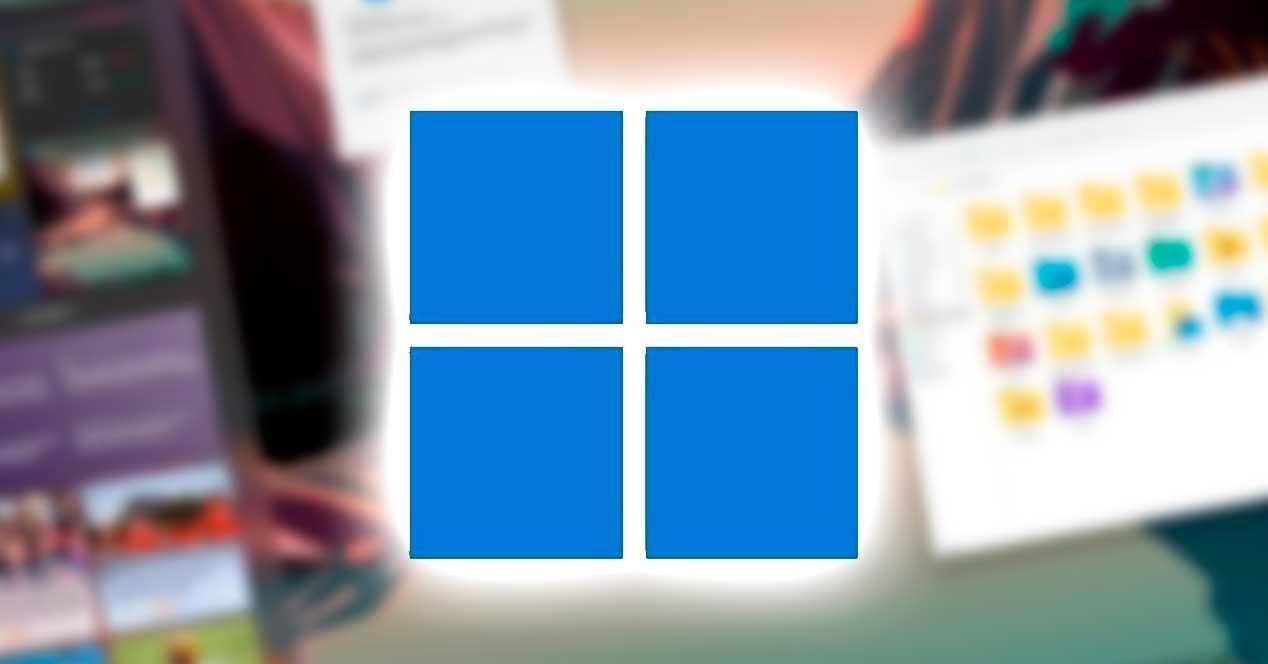 Windows 11 cuadrados azules