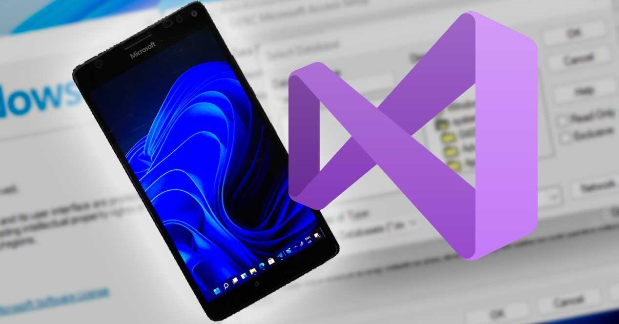 Windows 11 en móvil, Visual Studio