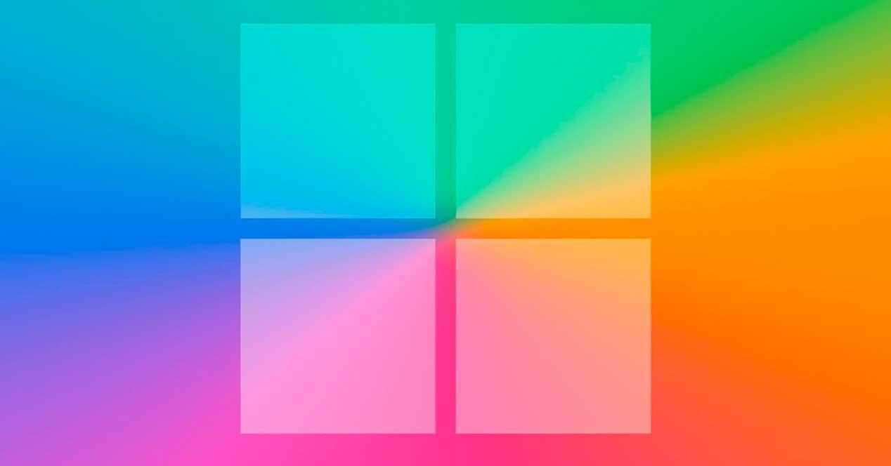 Windows moderno colores