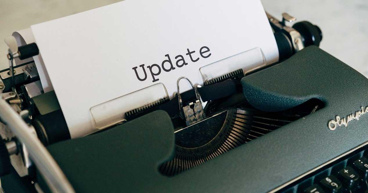 Windows update caché