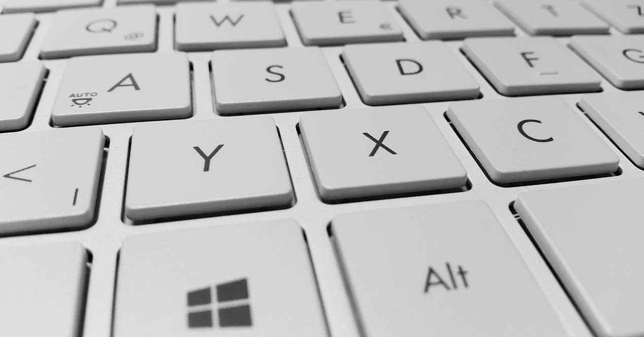 teclado explorador