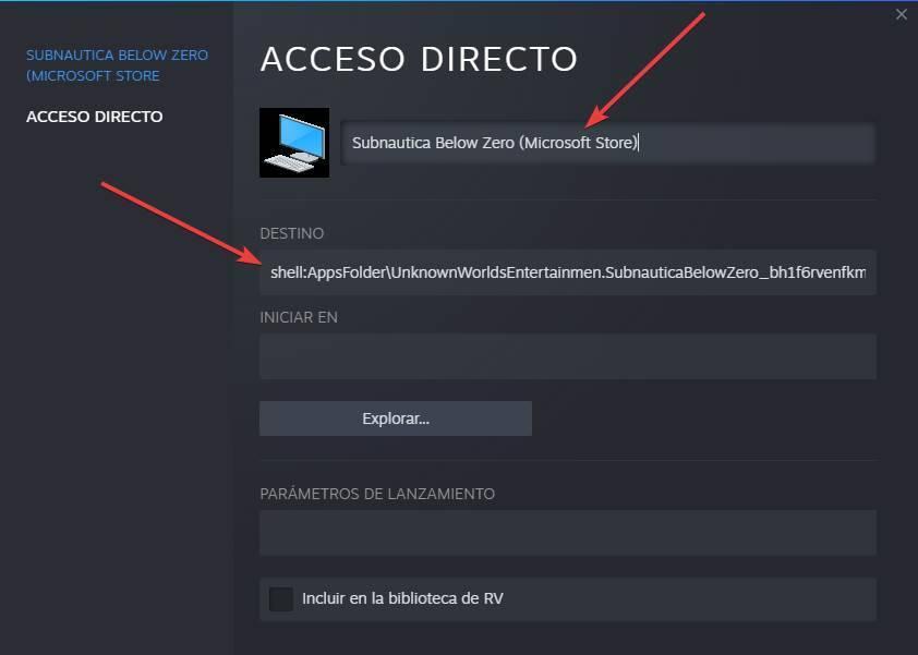 Añadir juego de la Microsoft Store a Steam - 5