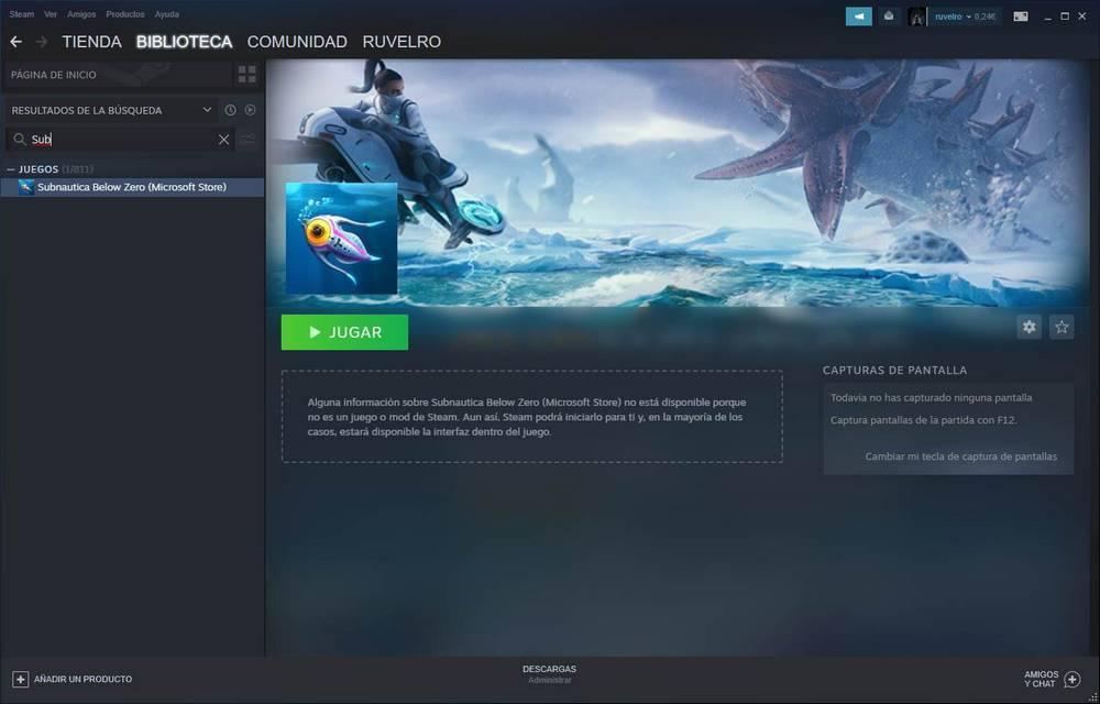 Añadir juego de la Microsoft Store a Steam - 6
