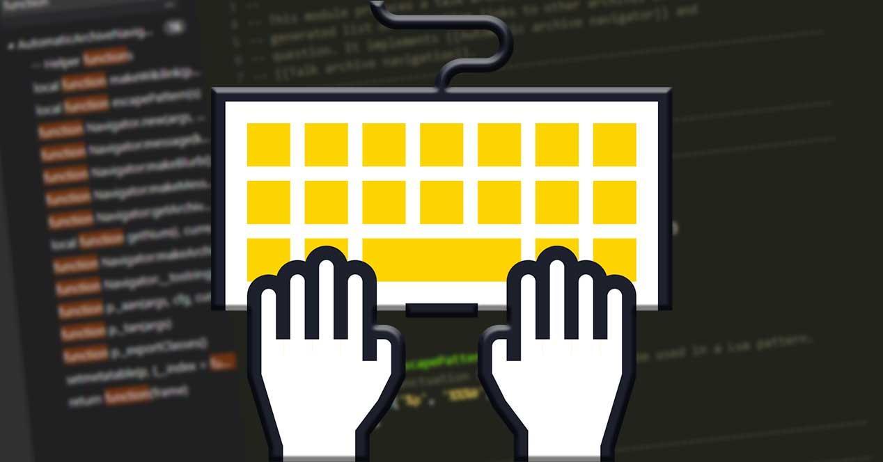 Atajo teclado Visual Studio Code