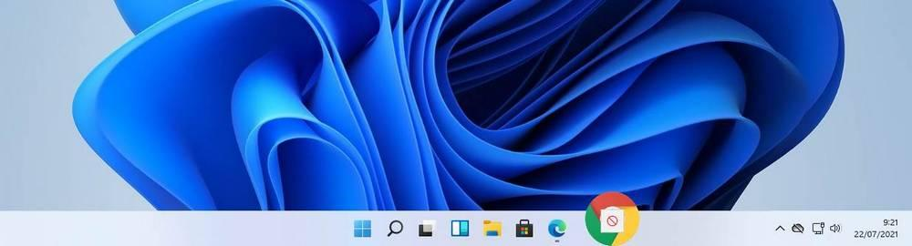 Barra tarea Windows 11 - Virhe arrastrar