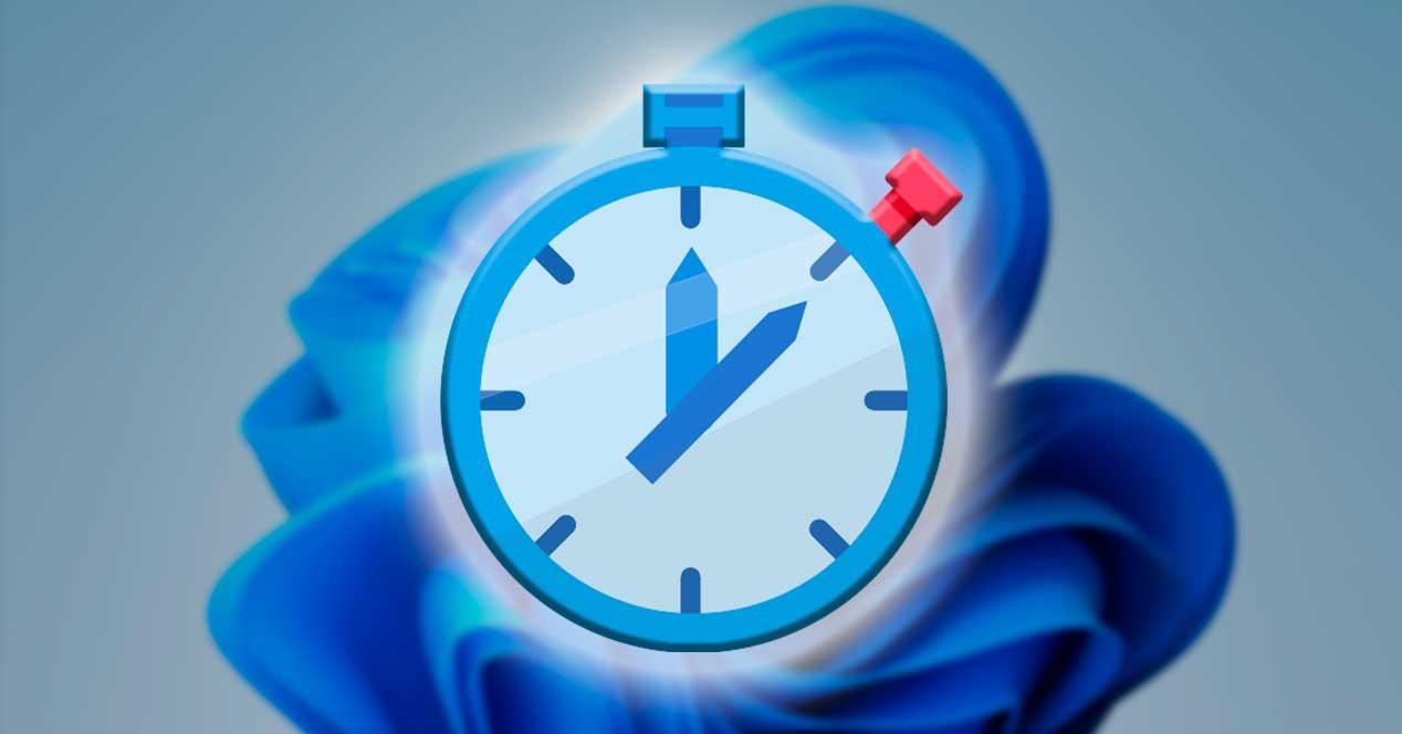 Cronometro Windows 11