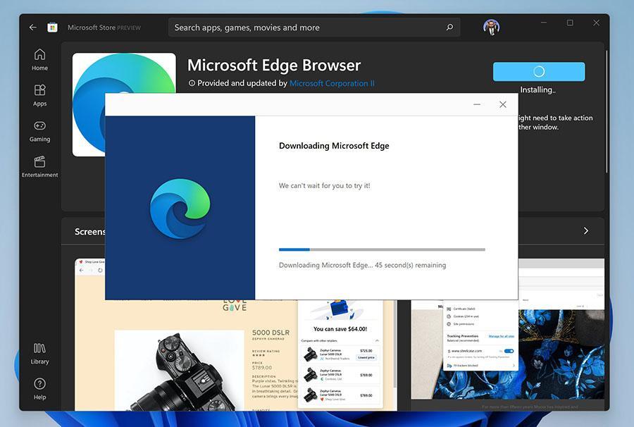 Télécharger le navigateur Microsoft Edge