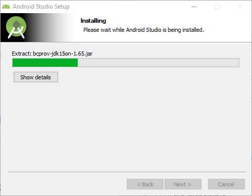 Скачать instalar Android Studio - 7