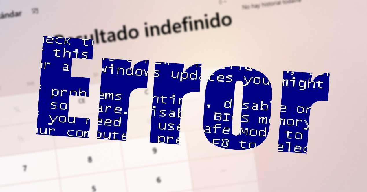 Error calculadora Windows