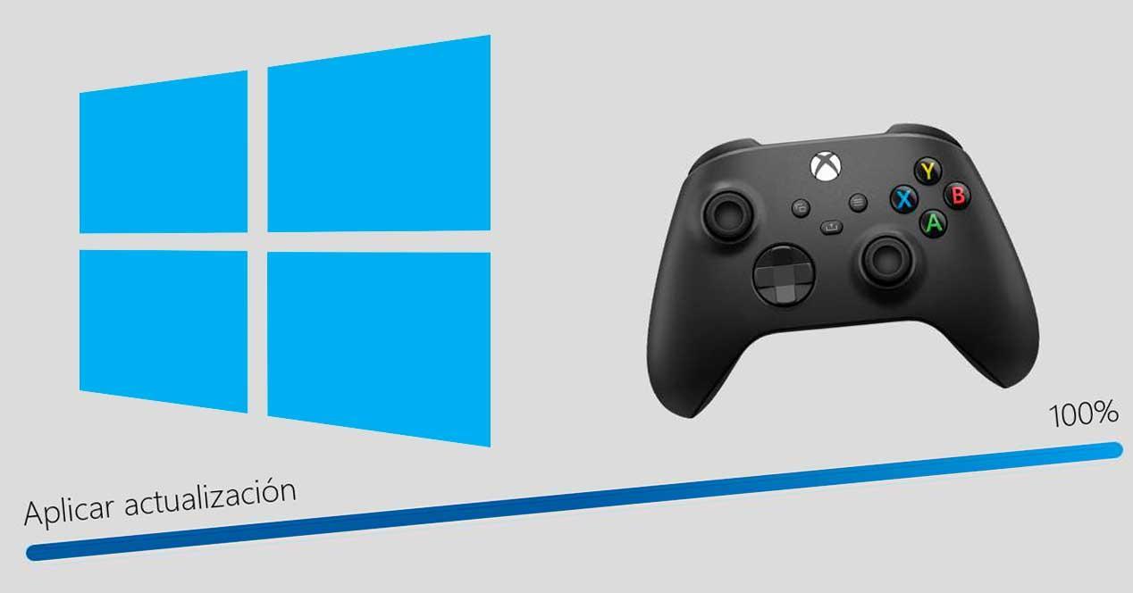 Mando Xbox actualizar