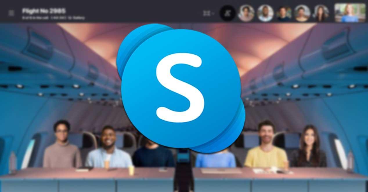 Modo Juntos de Skype para llamadas entre dos personas