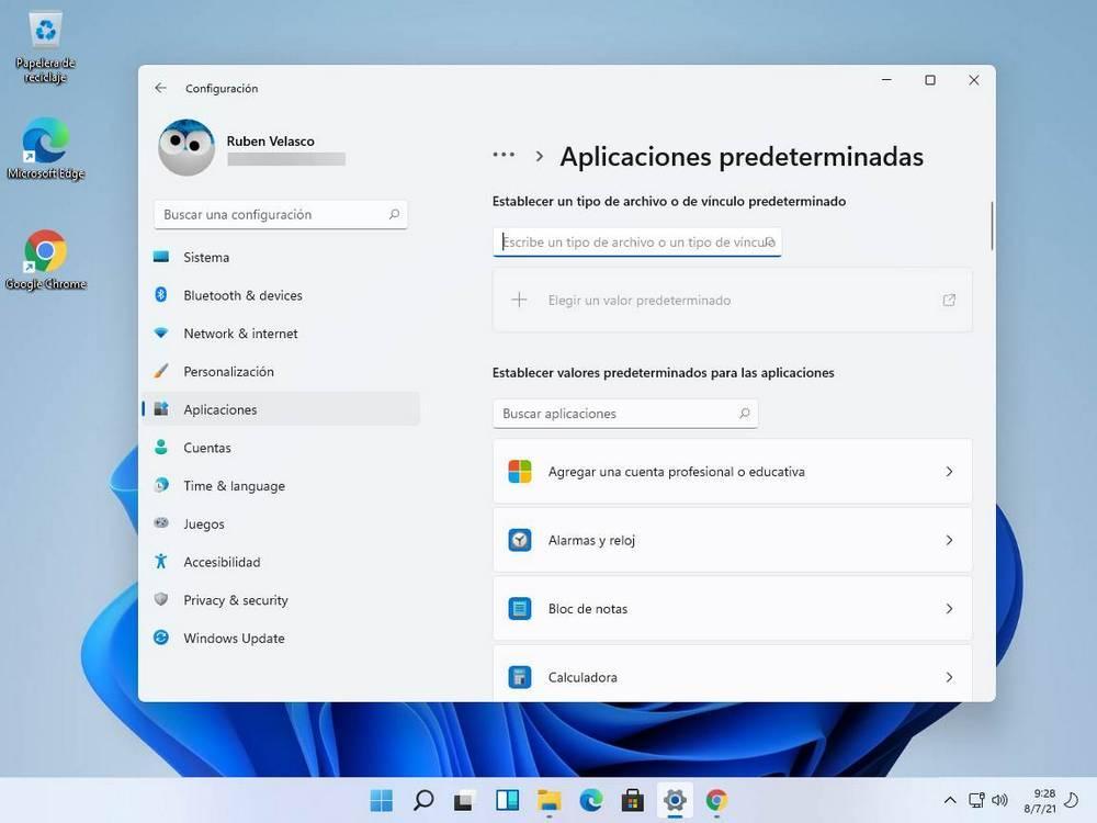 Problemas cambiar navegador por defecto en Windows 11 - 1