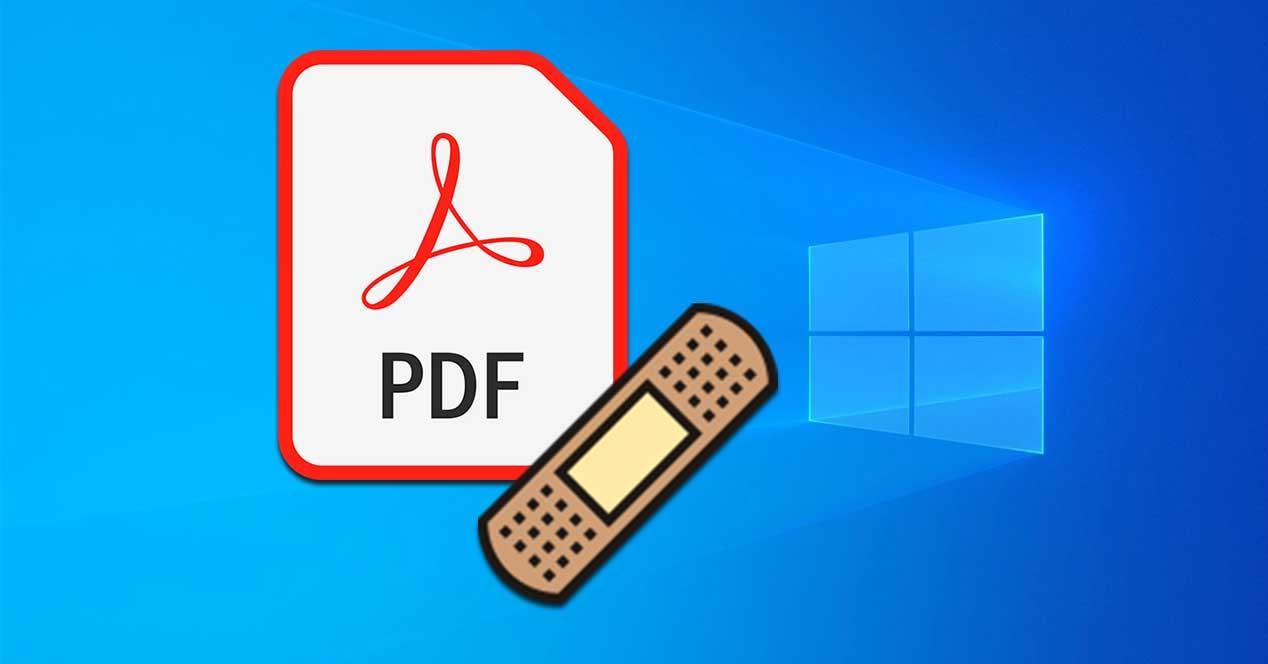 Programas y webs para reparar PDF