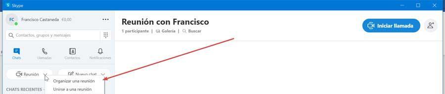 Skype organizează o întâlnire