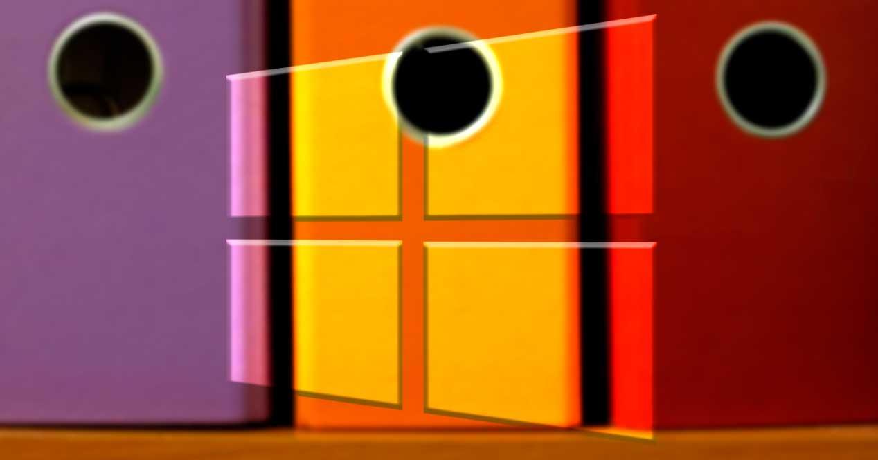 Varias carpetas Windows