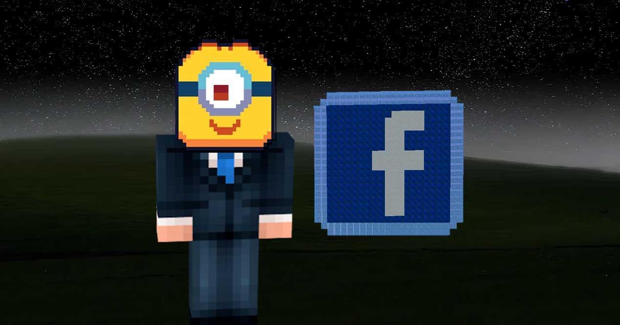 Viden Minion Facebook Minecraft Bliss