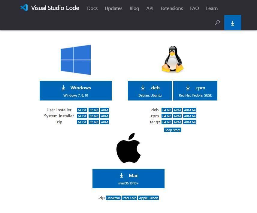Visual Studio Code - Descargar