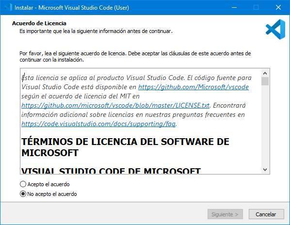 Visual Studio Code - Instalar 1