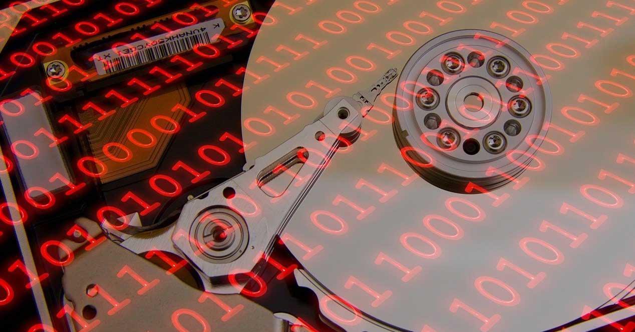 disco duro datos