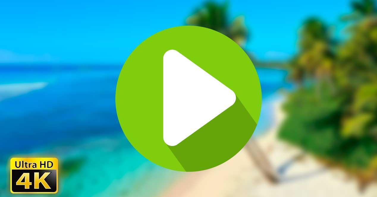4K video reproducir