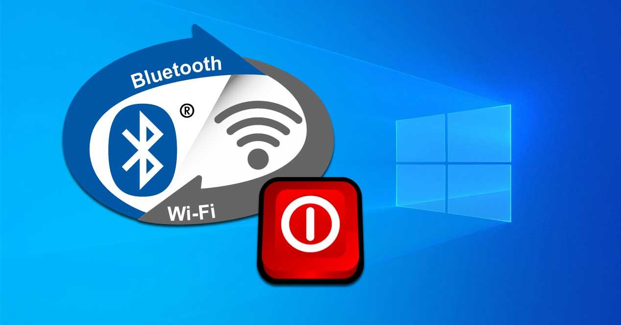Cómo desactivar WiFi y Bluetooth en Windows