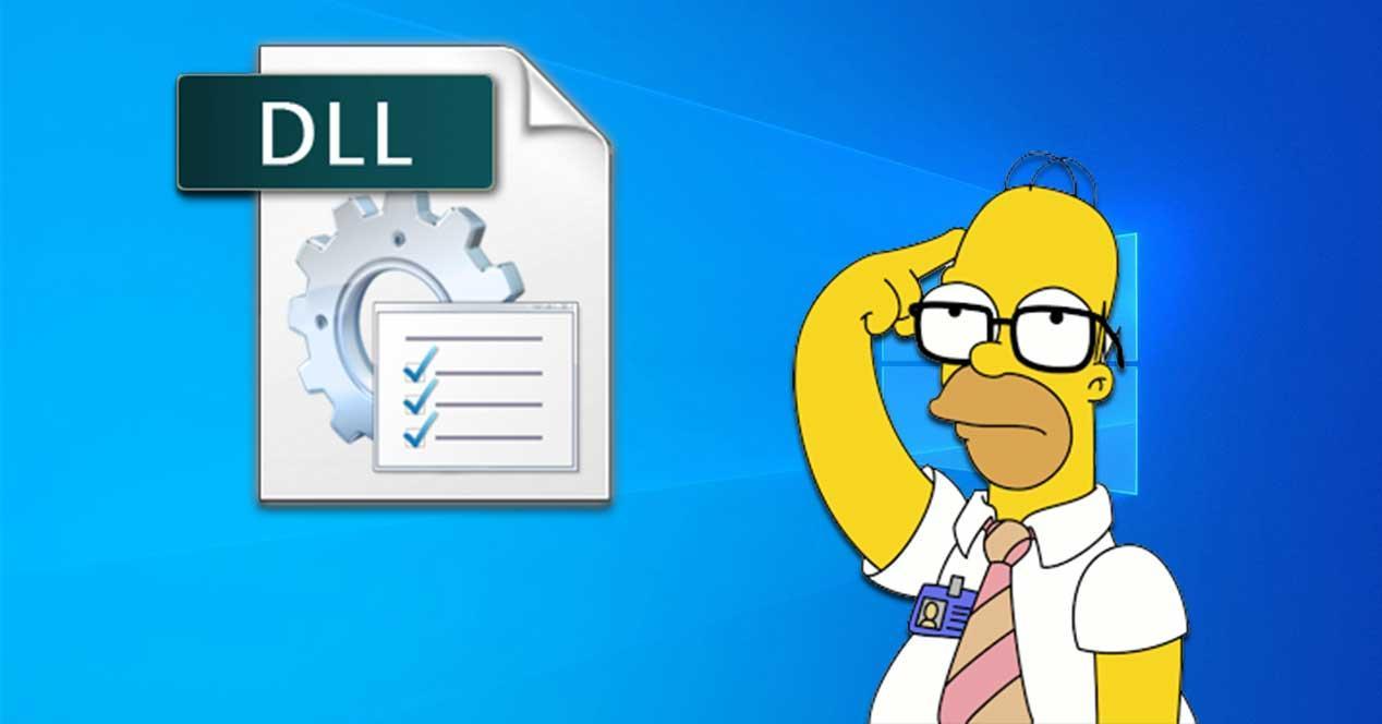 Descargar archivos DLL