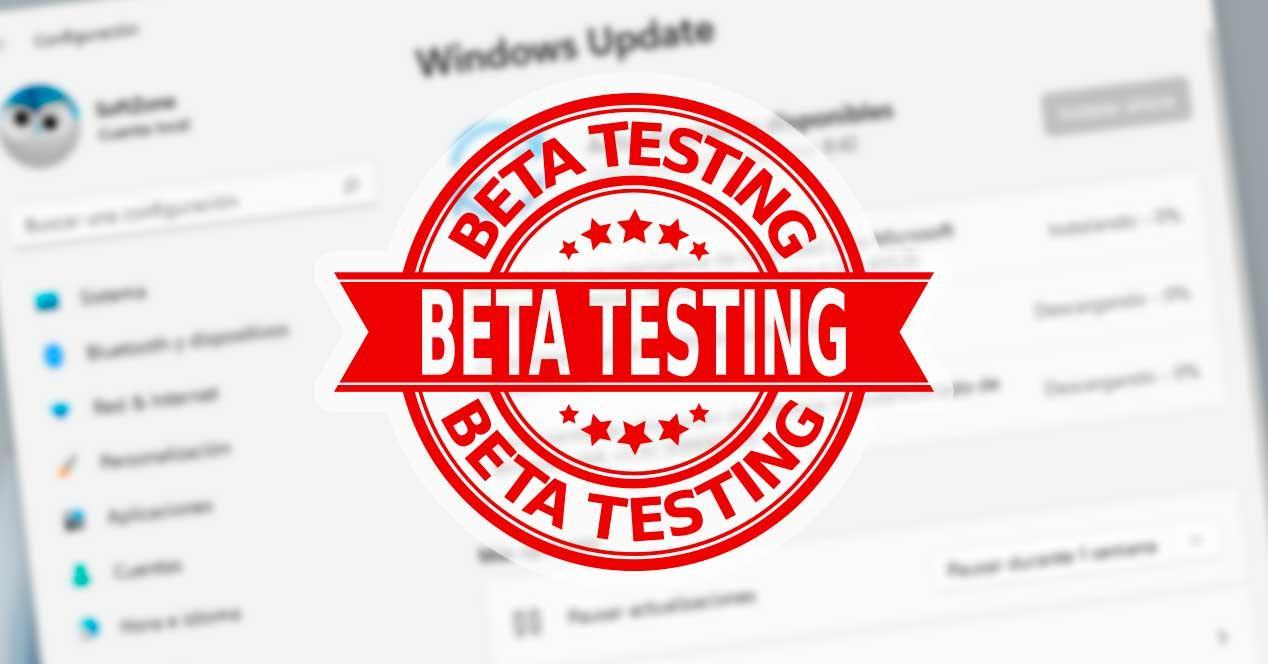 Nueva Beta Windows 11