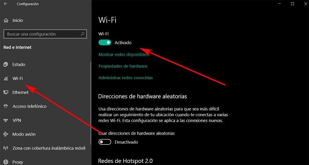 Quitar Wi-Fi